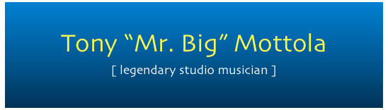 "Tony ""Mr. Big"" Mottola